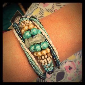 handmade Jewelry - Gorgeous goddess coil wrap bracelet